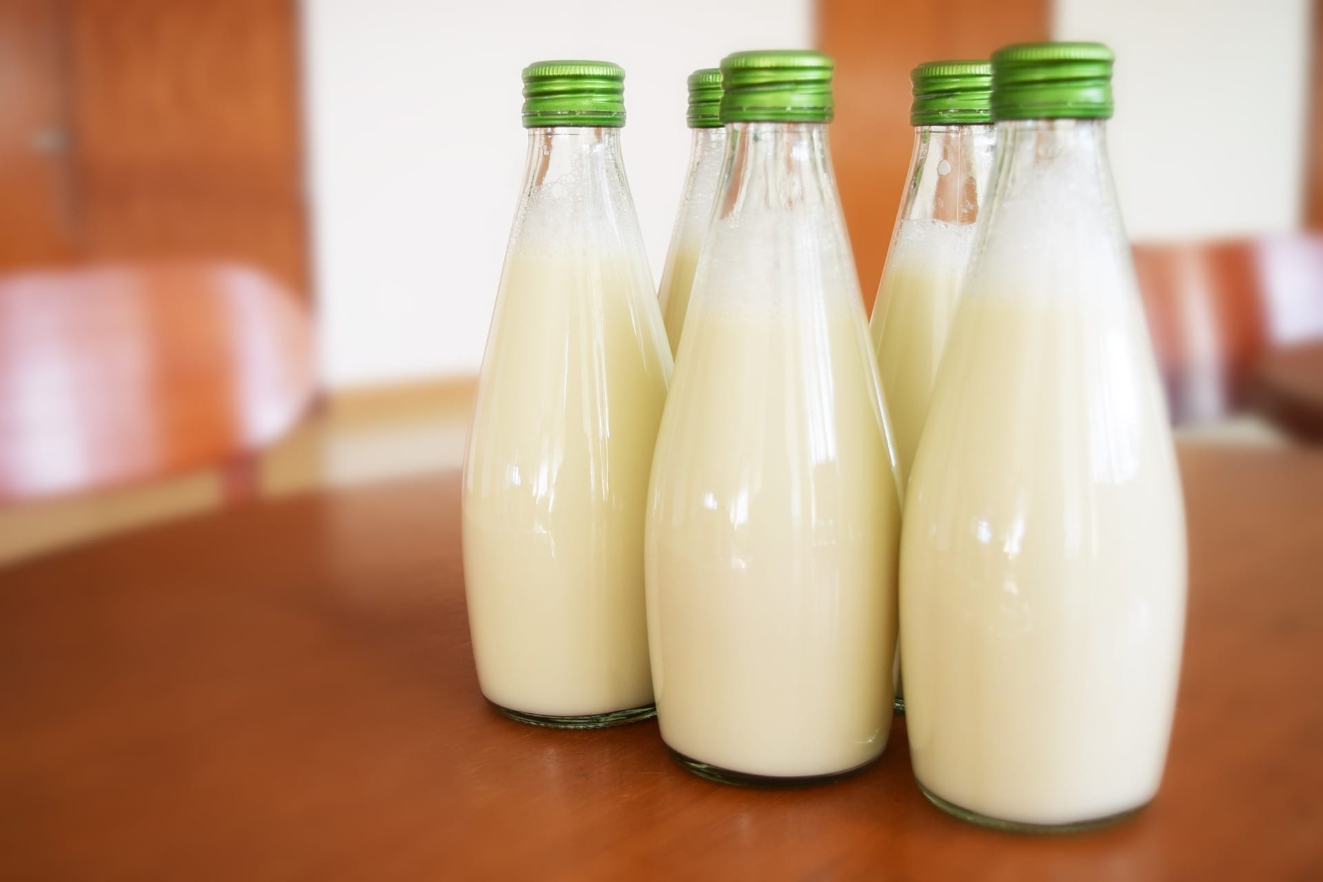 Flaschen Milch